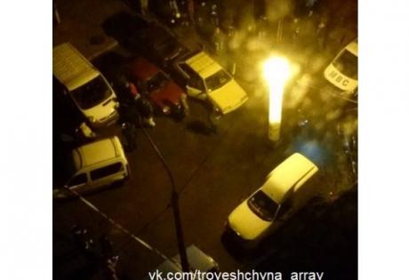киев, взрыв, троещина