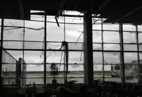 донецк, днр, армия украины, аэропорт Донецк, происшествия, донбасс, юго-восток украины, новости украины