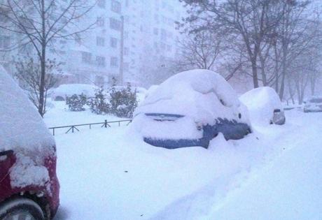 одесса, метель, шторм, снегопад