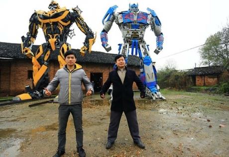 китайцы, трансформеры, машина