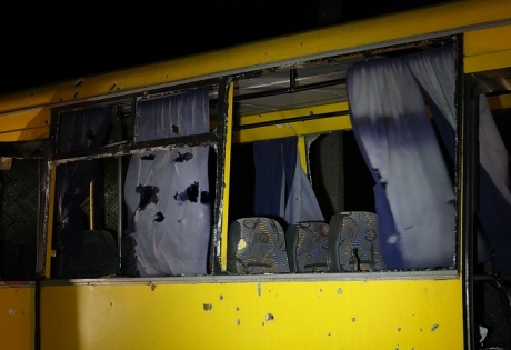 Волноваха, обстрел автобуса, ДНР, восток Украины, происшествия, расследование, Донбасс