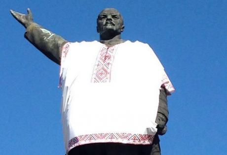 памятник ленину, запорожье, новости украины, общество, происшествия