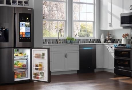 Холодильники Samsung: прогрессивный взгляд на бытовую технику Family Hub Десонга Ра