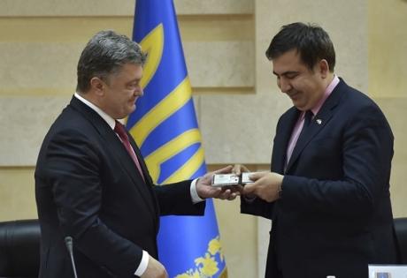 порошенко, яценюк, украина, политика, саакашвили, назначили, новости