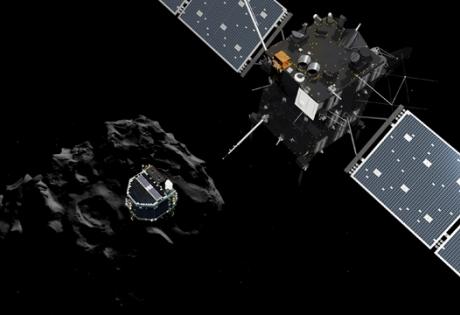 Philae, исследование, комета, Rosetta
