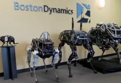 наука и техника, технологии, сша, Google, Boston Dynamics, автономный Spot Robot