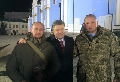 порошенко, новогоднее обращение, комбаты