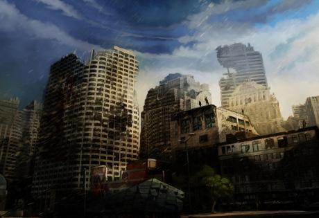 Человечество, катастрофа, вымирание, вулкан, метеорит, климат