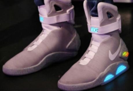 назад в будущее, кроссовки, Марти Макфлай, Nike