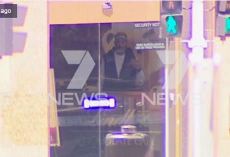 сидней, австралия, магазин, заложники