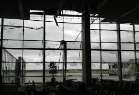 Аэропорт, газ, Порошенко, опровергли, применили, Донецк