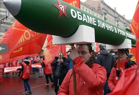 россия, коммунисты, фашисты, обама, ракеты