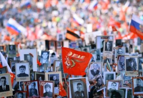 бессмертный полк, 9 мая, путин, день победы, фото, москва, россия, шествие, новости, общество