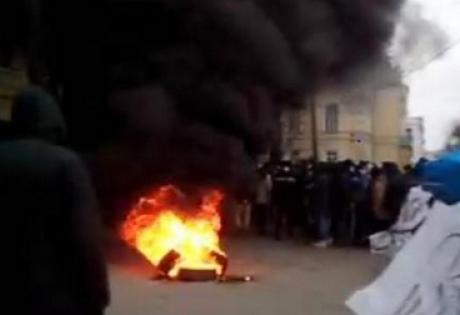 винница, протесты в Виннице, майдан в виннице, новый майдан, третий майдан, 06.12.2014