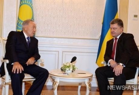 порошенко, назарбаев, петр порошенко, нурсултан назарбаев, встреча, трансляция, прямая трансляция