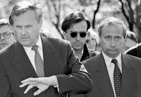 Путин пошел по коридору, Бабки делать надо, Россия, Владимир Путин, президент РФ, Борис Ельцин, Анатолий Собчак, КГБ