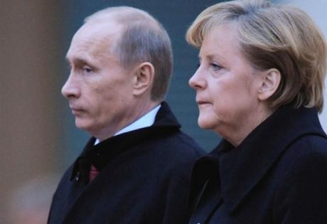 путин, меркель, медведь, черепаха, европа, россия