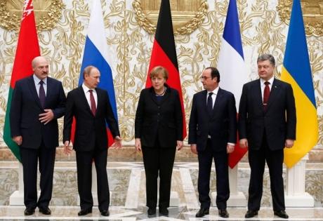 война в украине, переговоры в минске, минская встреча, нормандский формат, новости украины, новости россии, олланд, путин, меркель, порошенко, беларусь