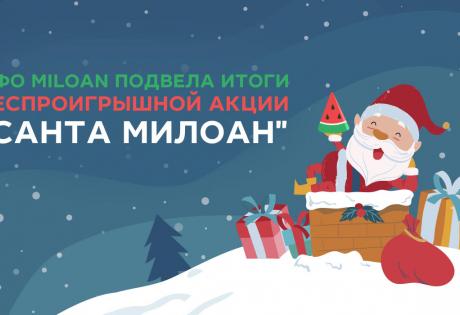 "МФО Miloan подвела итоги беспроигрышной акции ""Санта Милоан"""
