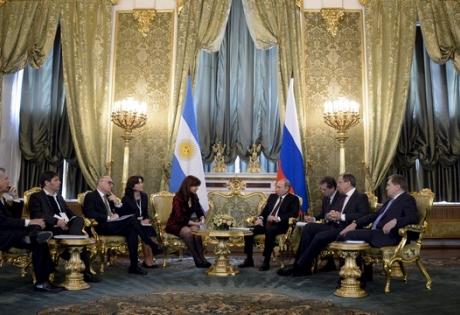 путин, политика, россия, аргентина, Кристина Фернандес де Киршнер, китай