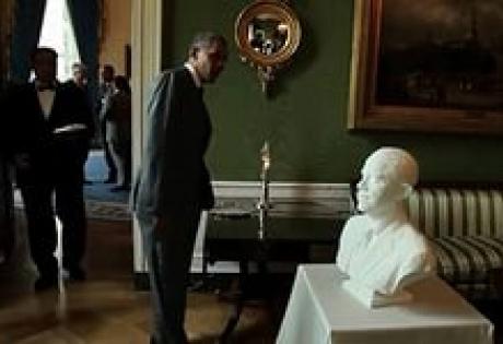 Обама, США, печать, 3D, модель, фотографии, президент