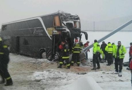 Словакия, автобус, жертвы