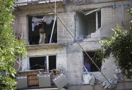 """Иловайск, разрушения, здания, дома, """"котел"""""""