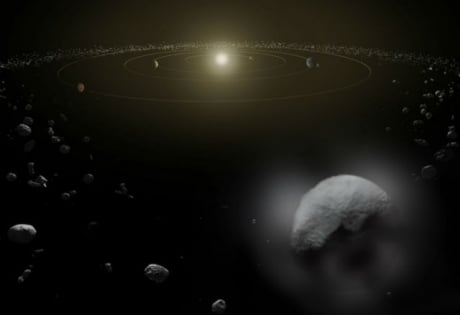 "наука и техника, космос, Церера, NASA, миссия ""Рассвет"""