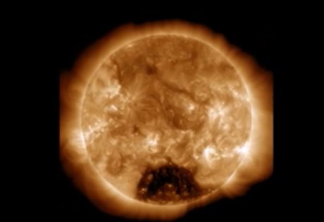 солнце, корональная дыра, наса