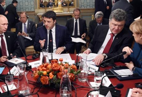 путин, меркель, берлускони, саммит в милане