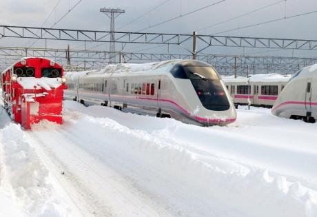 япония, снегопады, токусима