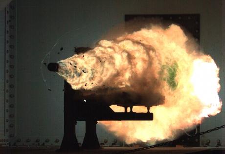 оружие, электромагнитная пушка, сша, снаряд, скорость звука