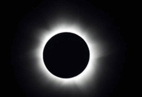 космос, солнечное затмение, астронавт NASA