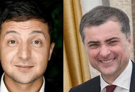 выборы, Петр Порошенко, Владимир Зеленский Коломойский Сурков