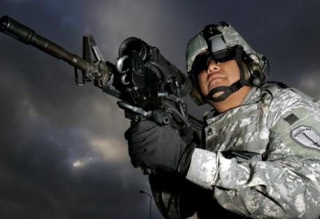 модификация, техника, лазер, оружие, пушка, винтовка, США, ученые, наука, M4, армия