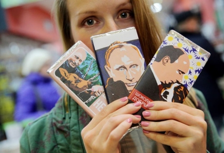 Владимир Путин, Россия, шоколад, общество, Екатеринбург