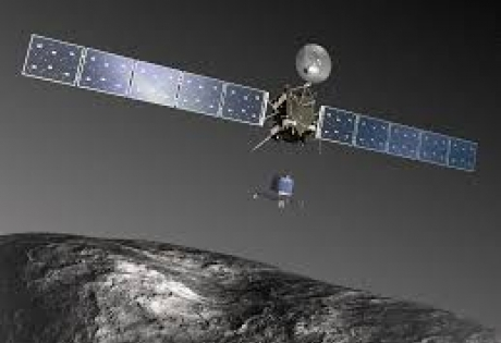 Снимки, фото, комета, цветные, Rosetta, спутник