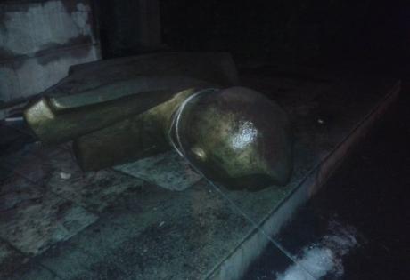 памятник ленину, одесская область, происшествия, украина, нерубайское