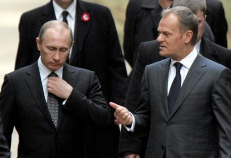 дональд туск, владимир путин, новости польши, политика, новости россии, новости украины