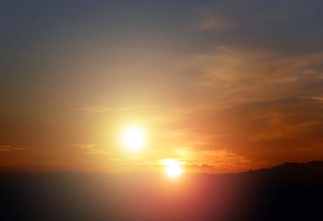 солнце, звезда шольца, космос, земля