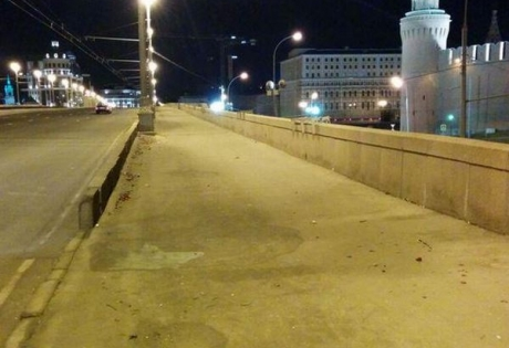 Немцов, зачистка, мост