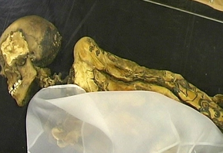 мумия, алтайский край, природные катаклизмы