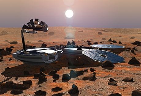 наса, бигль-2, марс, замля, аппарат