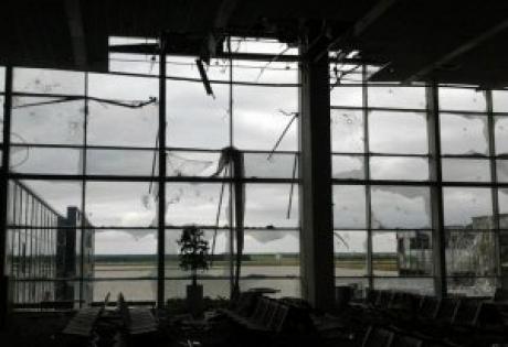 """Донецк, аэропорт, бои, военные, """"киборги"""""""
