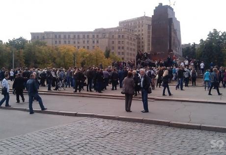 Харьков, ДНР, ЛНР, митинг, милиция, Геращенко, Добкин