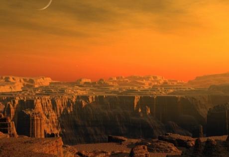 марс, озера, воздух, наса