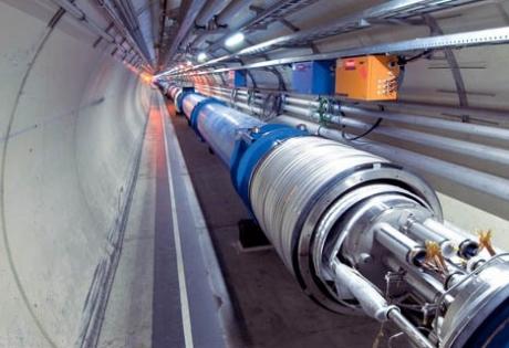 коллайдер, частицы, темная материя