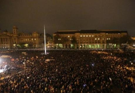 венгрия, орбан, путин, пророссийская политика, митинг