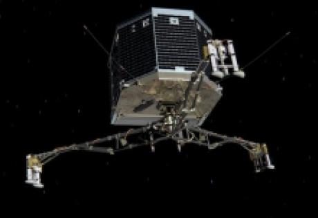 модуль Philae, Rosetta, комета, Чурюмова-Герасименко, гарпуны