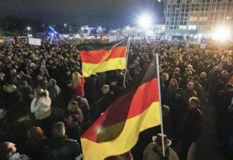 германия, антиисламистские протесты